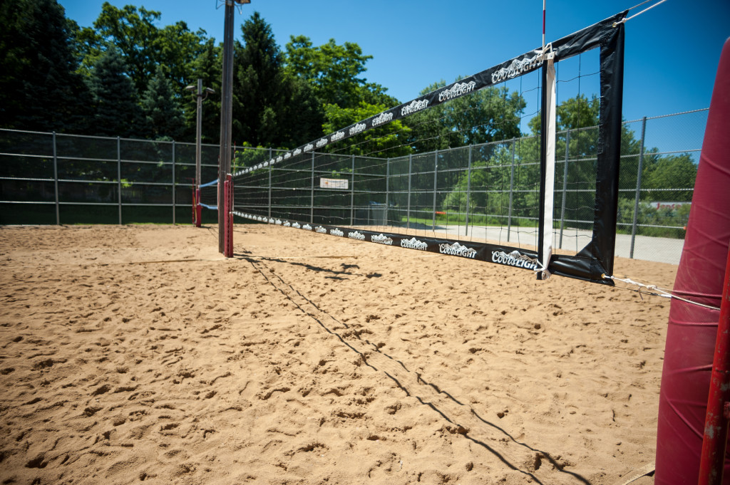 Vball courts